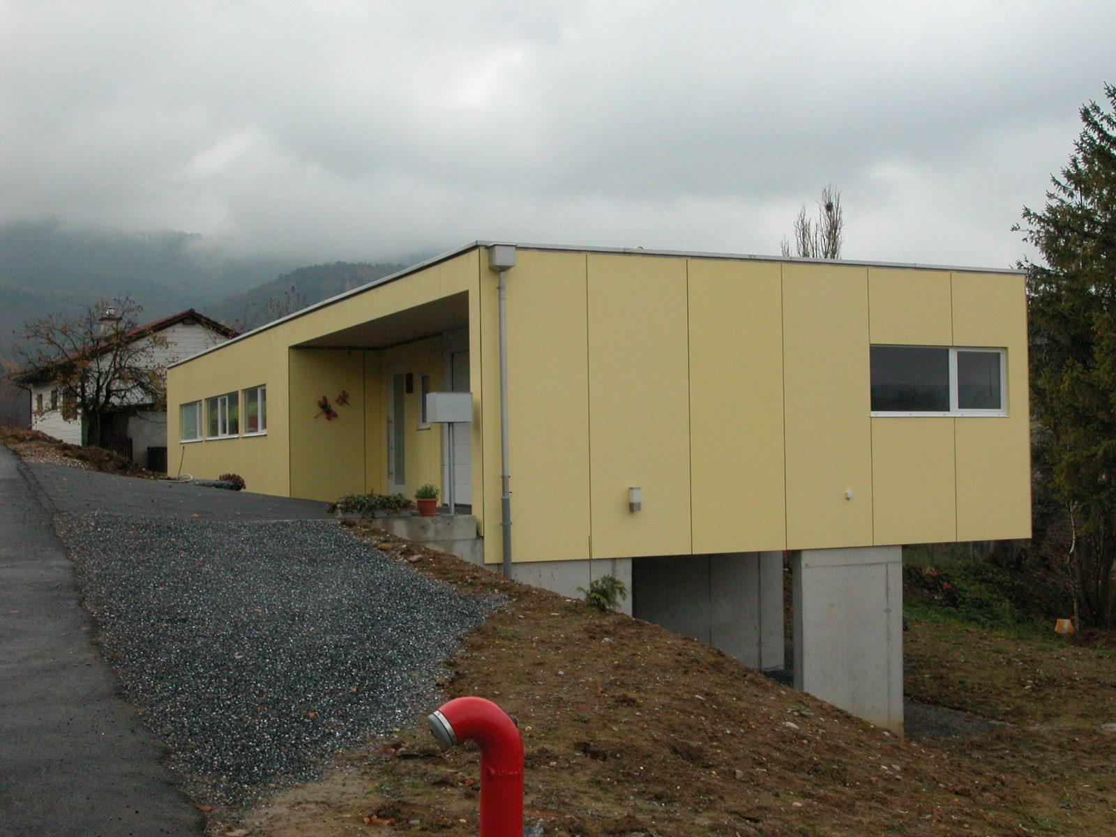 Neubau Einfamilienhaus Herznach
