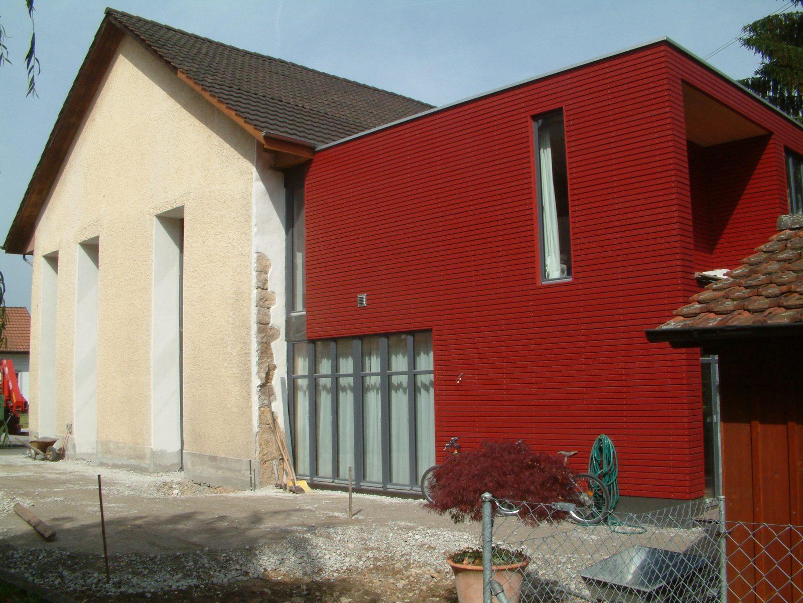 Umbau Geissgasse Frick